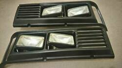 Bmw E21 Square Grille For Square Headlight L And R Side And All 4 Headlights Ne