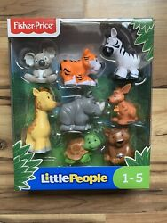 Fisher Price Little People NEW 8 Zoo Animals