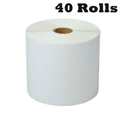 40rolls 4x6 Direct Thermal Shipping 500 Labels For Zebra Lp2824 Lp2442 Tlp2844