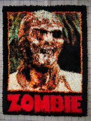 Zombie Lucio Fulci Tapestry Movie Poster Gates Of Hell Living Dead Giallo Ooak