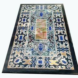 Marble Coffee Table Top Mosaic Art Dining Table For Home Furniture 30 X 60 Inch