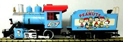 Lgb Peanuts 2-4-0 Engine Tender And Caboose Very Rare New