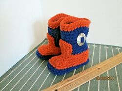 Auburn University Tigers Baby Cowboy Boots Shoe. Made In The Usa