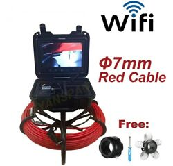 Hd Night Vision Waterproof Pipe Inspection Video Cam Fit For Roof Under Floors