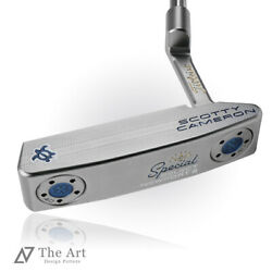Scotty Cameron Custom Putter 2020 Special Select Newport Lucky Honu Clear Blue