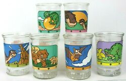 Dinosaurs - A Rare 1998 Bama's The Land Before Time Complete Set Of 6 Glasses