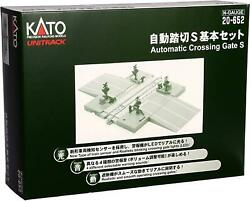 Kato N Scale Automatic Level Crossing S Basic Set 20-652 Railway Model Supplies