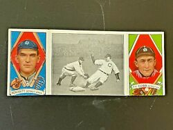 1912 T202 Good Play At Third George Moriarity Ty Cobb Hassan Tobacco