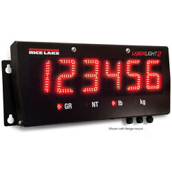 Rice Lake 179523, 6 Led Remote Display With Flange Mount Bracket, Ul/cul Marked