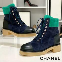 Razor Suede Lace-up Boots High-cut Sneakers Size Women 7.5us