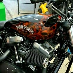 4.5 Fuel Efi Or Carb Harley Sportster Gas Tank Painted 1200 883 Xl 48 Nightster