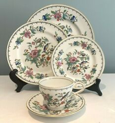 Aynsley Pembroke 20 Piece Dinnerware Set For 4 Place Settings Plates Cups ...