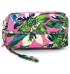 Vera Bradley All In One Crossbody for iPhone 6 TROPICAL PARADISE NWT $68 15863 $25.00