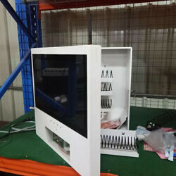5 Slot Cigarette Candy Food Chips Bathroom Wall Bill Coin Led Vending Machine