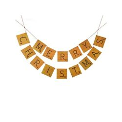 Raz Imports 2021 To Grandmother's House We Go 48-inch Game Letter Garland
