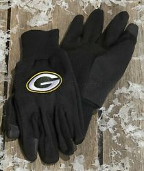 Green Bay Packers Nfl Unisex Texting Gloves Football Team Fan Gift