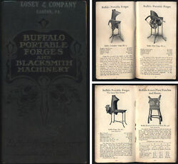 Buffalo Forge Company - Forge And Machinery Catalog - Ca. 1910 Edition - 52 Pages