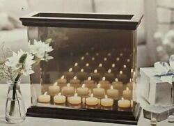 Partylite Infinite Infinity Mirror Reflections Mirrored Candle Votive Holder New