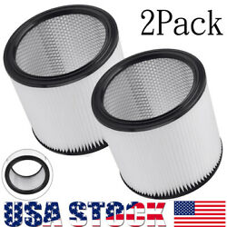 2x Cartridge Filter Replacement 90304 90350 90333 For Shop Vac Wet Dry Vacs Usa