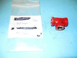 Nos Hydraulic Connector Tee Fits New Holland Baler Part 86544164
