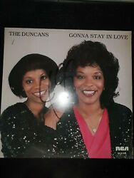 The Duncans Andndash Gonna Stay In Love Rca Victor 1982 12 Never Opened Rare