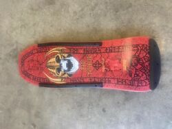 Vintage Powell Peralta Welinder Xt Nordic Red Excellent Free Shipping