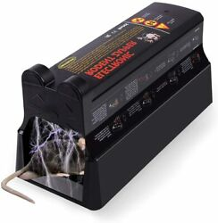 Electronic Mouse Trap Victor Control Rat Mice Killer Pest Electric Rodent Zapper