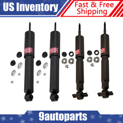 Kyb 4 Gas Shocks For Ford F150 2wd 1997 97 98 99 00 01 02 - 2003 344367 344374