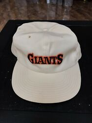 Rare Vintage Sports Specialties Sf Giants The Twill Snapback Hat