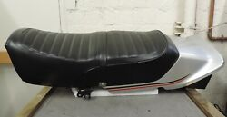 1980 Honda Cb750f Black Motorcycle Seat And Tail / Rear Cowl Section