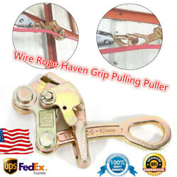 1t Wire Grips Steel Pulling Tool Cable Grip Gripper For Wire Rope Cable Clamp