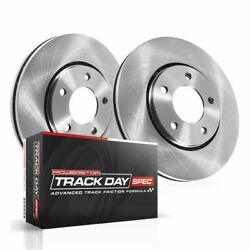 Tdsk098 Powerstop Brake Disc And Pad Kits 2-wheel Set Rear New For Nissan Maxima