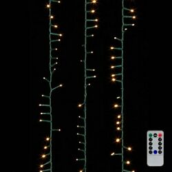 Raz Imports 73.8' Snake Garland Green Wire, 1000 White Lights With Remote