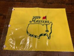 2019 Masters Golf Pin Flag Augusta National Tiger Woods 5th Win New Open Pga