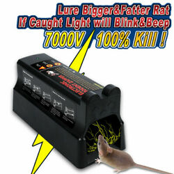 Electronic Rat Trap Victor Control Mouse Killer Pest Mice Electric Rodent Zapper