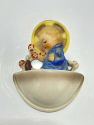 Goebel Hummel 36/0 Holy Water Font Child With Flowers Tmk4