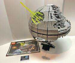 Lego Star Wars Death Star Ii 10143 100 Complete With Instructions And Sticker
