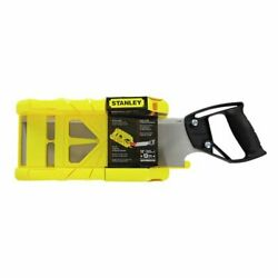 Stanley 12 305mm Mitre Box With Saw