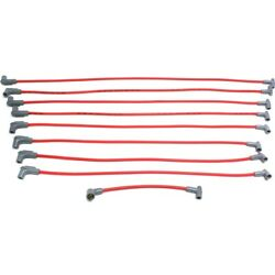 35599 Msd Spark Plug Wires Set Of 8 New For Olds Suburban Sierra Pickup Cutlass