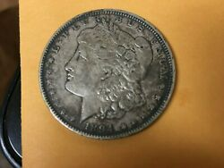 1894 O Morgan Silver Dollar New Orleans Mint Slightly Circulated Great Detail