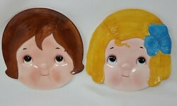 Vintage 1982 Dolly Dingle Full Face Plate And Billy Bumps House Of Global Art
