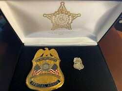 2013 Obama Inauguration Commemorative Set-badge And Pin-mint Condition Very Rare