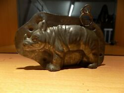 Rhino Chocolate Mold Mould Molds Vintage Antique N/5666
