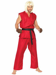 Ken Kenneth Masters Japanese Capcomand039s Street Fighter Video Game Mens Costume