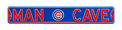 """Chicago Cubs Man Cave 36"""" X 6"""" Street Sign"""