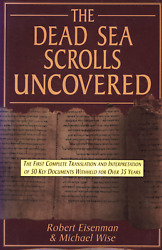 Robert Eisenman The Dead Sea Scrolls Uncovered First Complete Translation