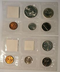 1953- 1956 Lot Of 4 Pd And S U. S. Mint Sets