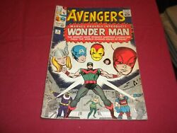 Ca1 Avengers 9 Marvel 1964 Silver Age 2.5/gd+ Comic 1st Wonder Man See Store