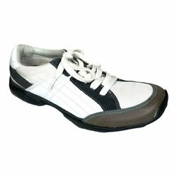Kenneth Cole Reaction Menand039s Trading Shots Leather Fashion Sneakers Size 10m