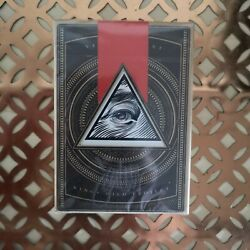 Verum Videre Christmas Edition Playing Cards Sealed Signed Jackson Robinson Deck
